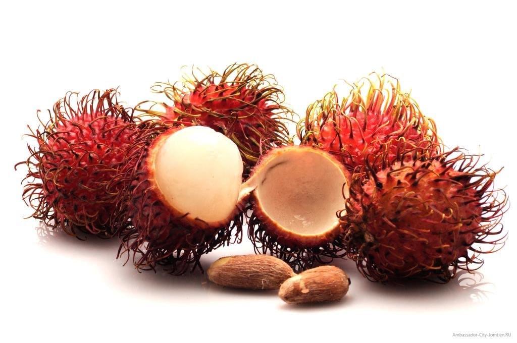 Самые странные фрукты - рамбутан