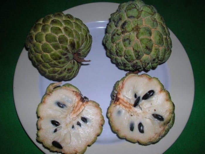 Самые необычные фрукты - сахарное яблоко